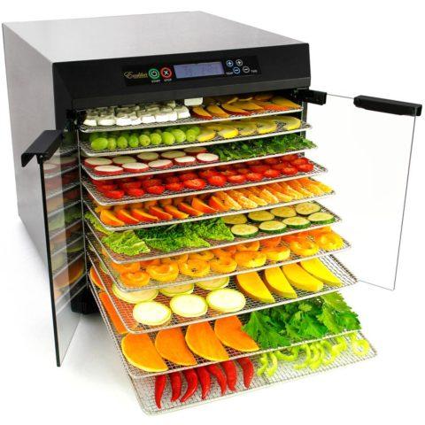 Инфракрасная сушилка для овощей и фруктов: рейтинг и отзывы