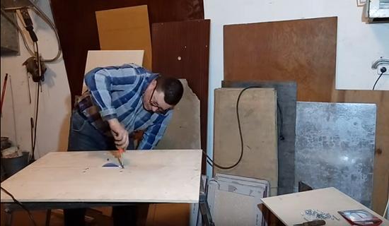 Самодельный плиткорез из болгарки: как изготовить своими руками, чертежи, видео