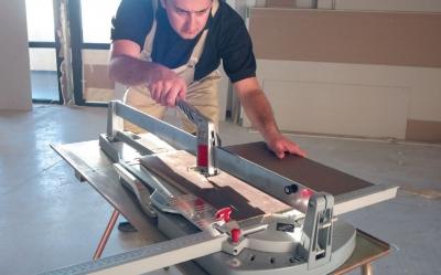 Как резать плитку ручным плиткорезом: принцип работы, инструкция по применению, видео