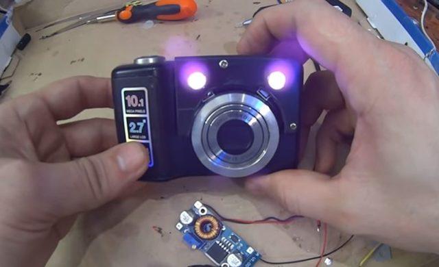Как сделать тепловизор из фотоаппарата: как переделать, видео