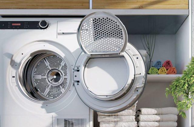 Принцип работы и функции сушильной машины для белья