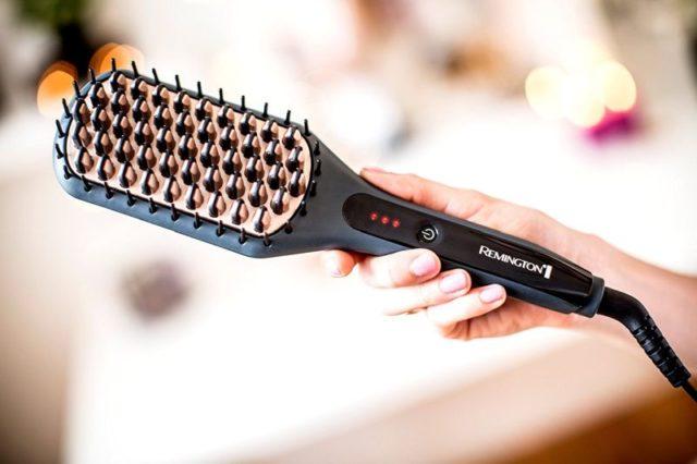 Какую расческу-выпрямитель для волос лучше выбрать