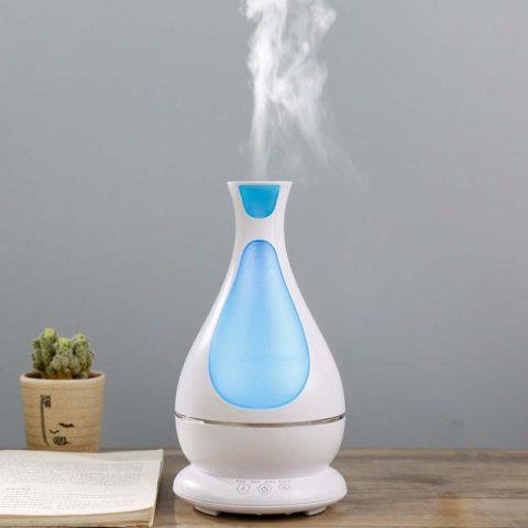 Почему увлажнитель воздуха оставляет белый налет на мебели