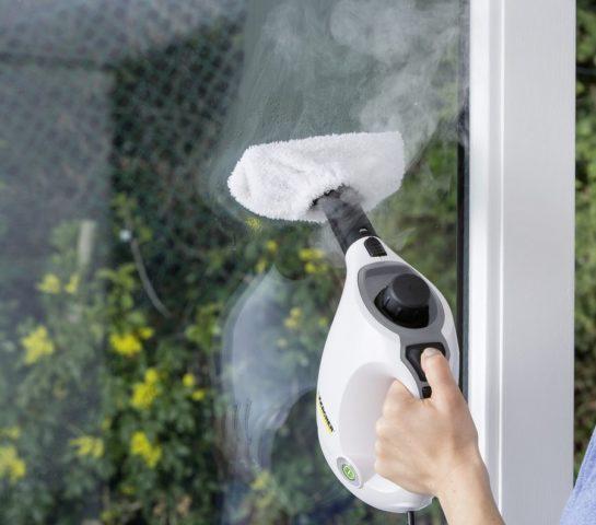Мытье окон пароочистителем и парогенератором