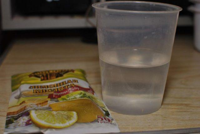 Чистка кофемашины от накипи лимонной кислотой